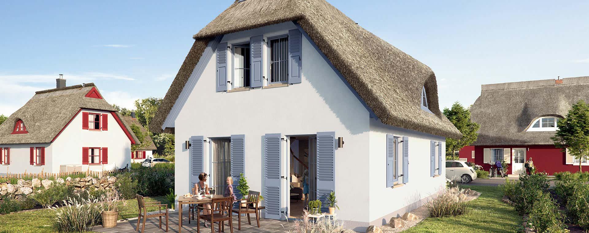 Berühmt Reetdachhaus kaufen an der Ostee - Bonava FB55